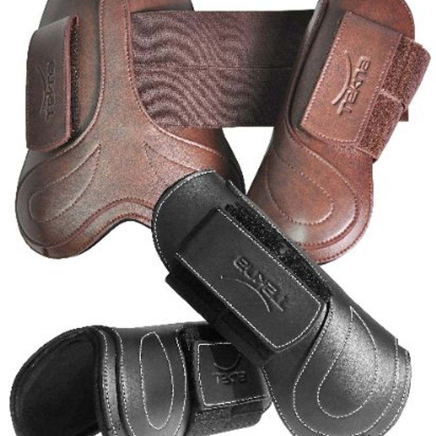 Open front boots