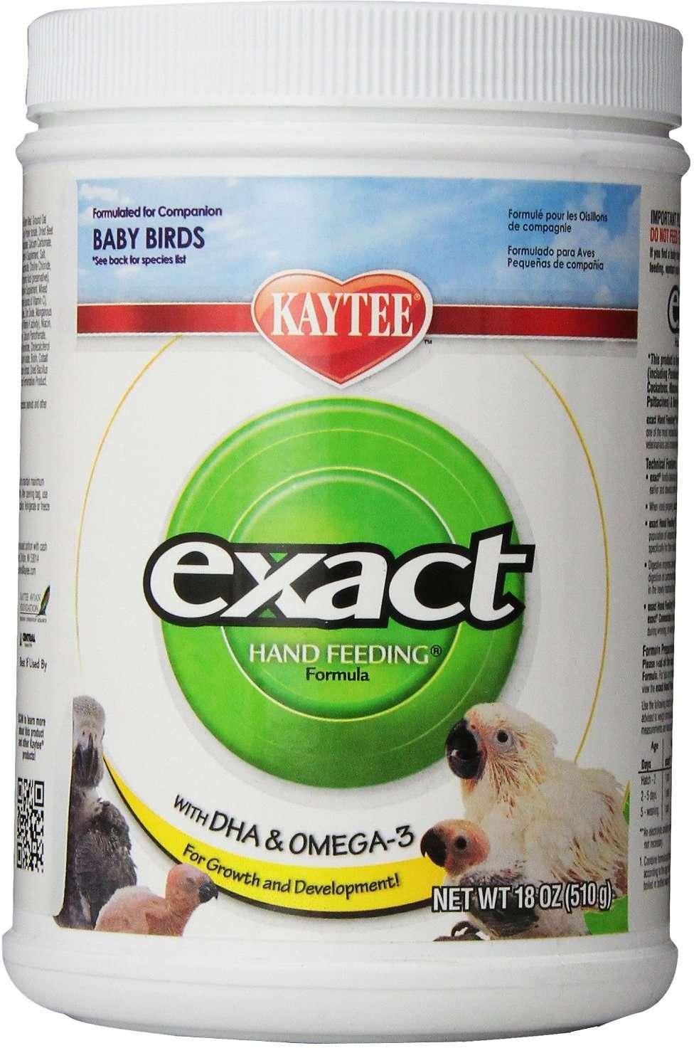 Kaytee Exact Hand Feeding Formula Baby Bird Food