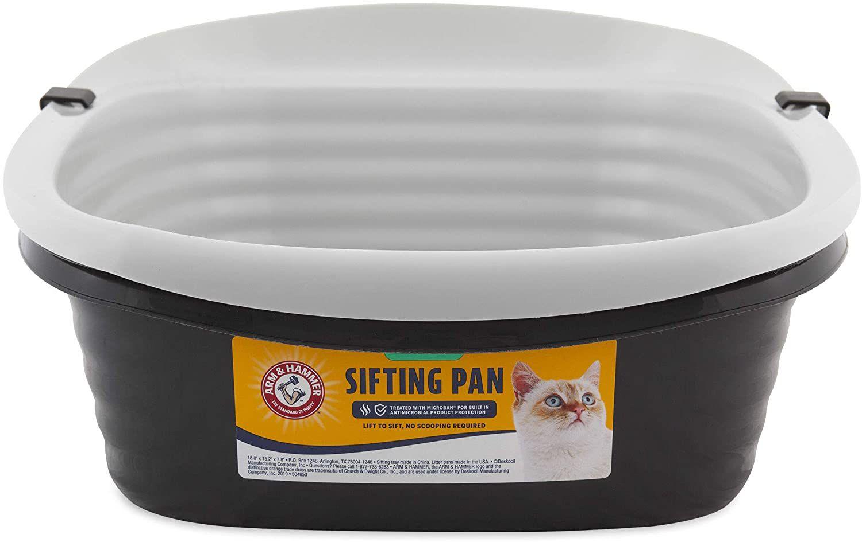Pet Mate Arm & Hammer Large Sifting Litter Pan