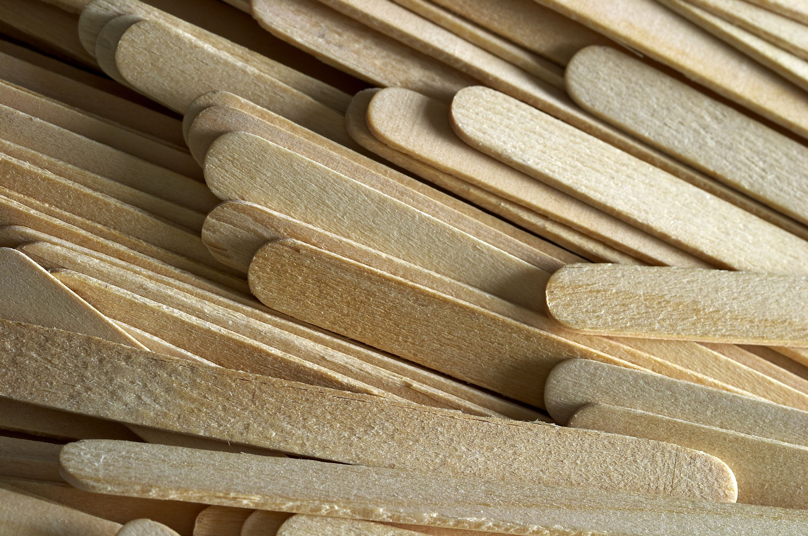 A collection of Popsicle sticks