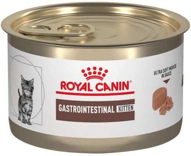 Royal Canin Veterinary Diet Gastrointestinal Kitten Ultra Soft Mousse in Sauce Canned Cat Food