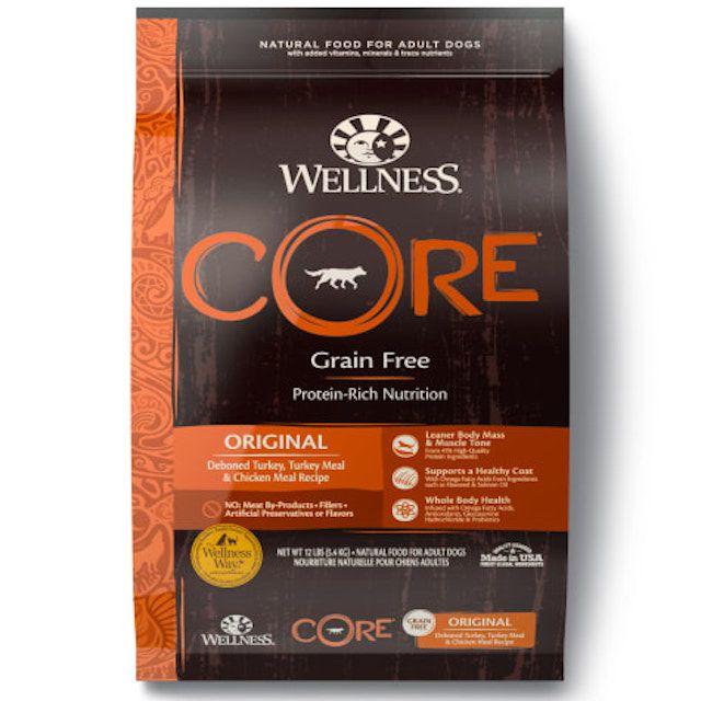Wellness CORE Natural Grain Free Original Recipe Dry Dog Food