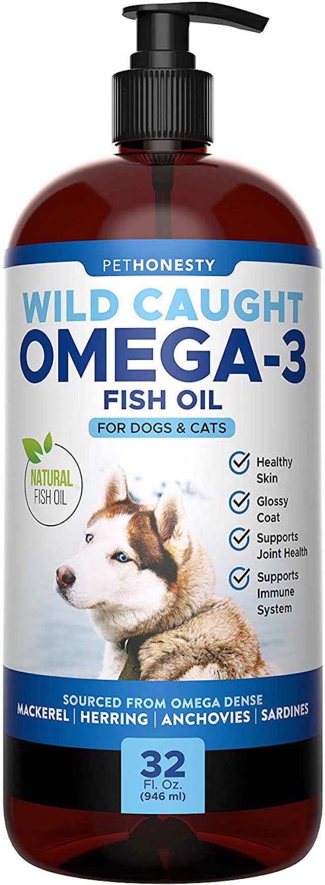 PetHonesty Omega-3 Fish Oil Dog & Cat Supplement