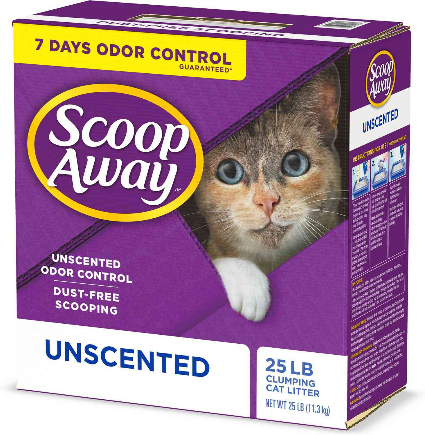 Scoop Away Unscented Clumping Clay Cat Litter