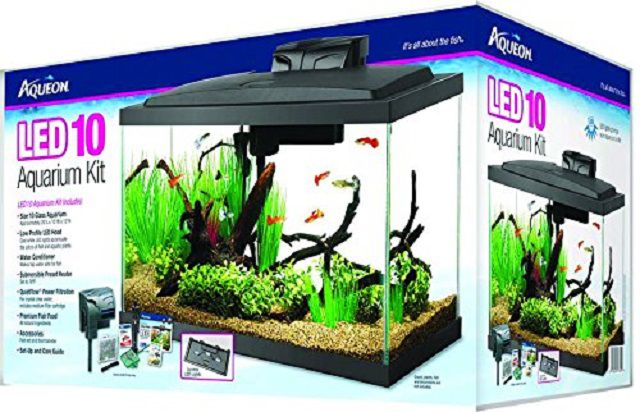 Aqueon 10g LED Aquarium Kit