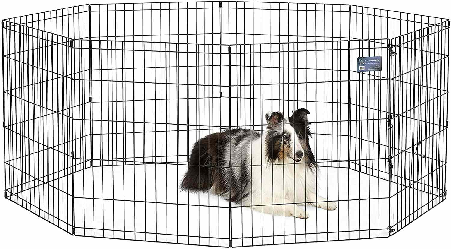 MidWest Homes for Pets Folding Metal Pet Playpen
