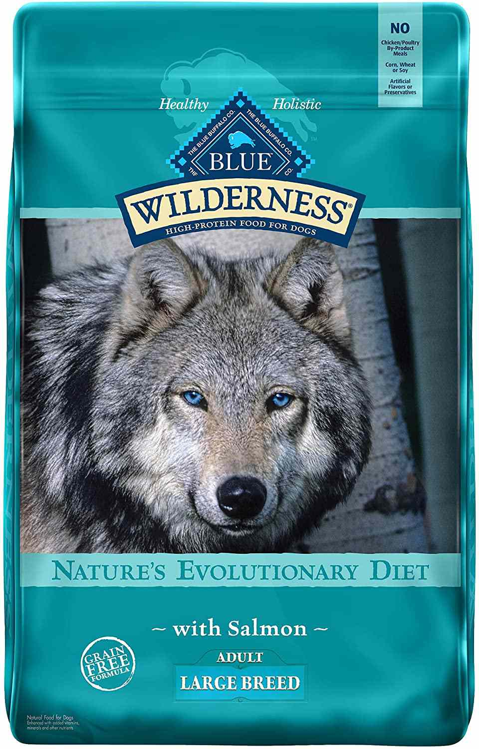 Blue Buffalo Wilderness High Protein Grain-Free Natural Large Breed Dry Dog Food