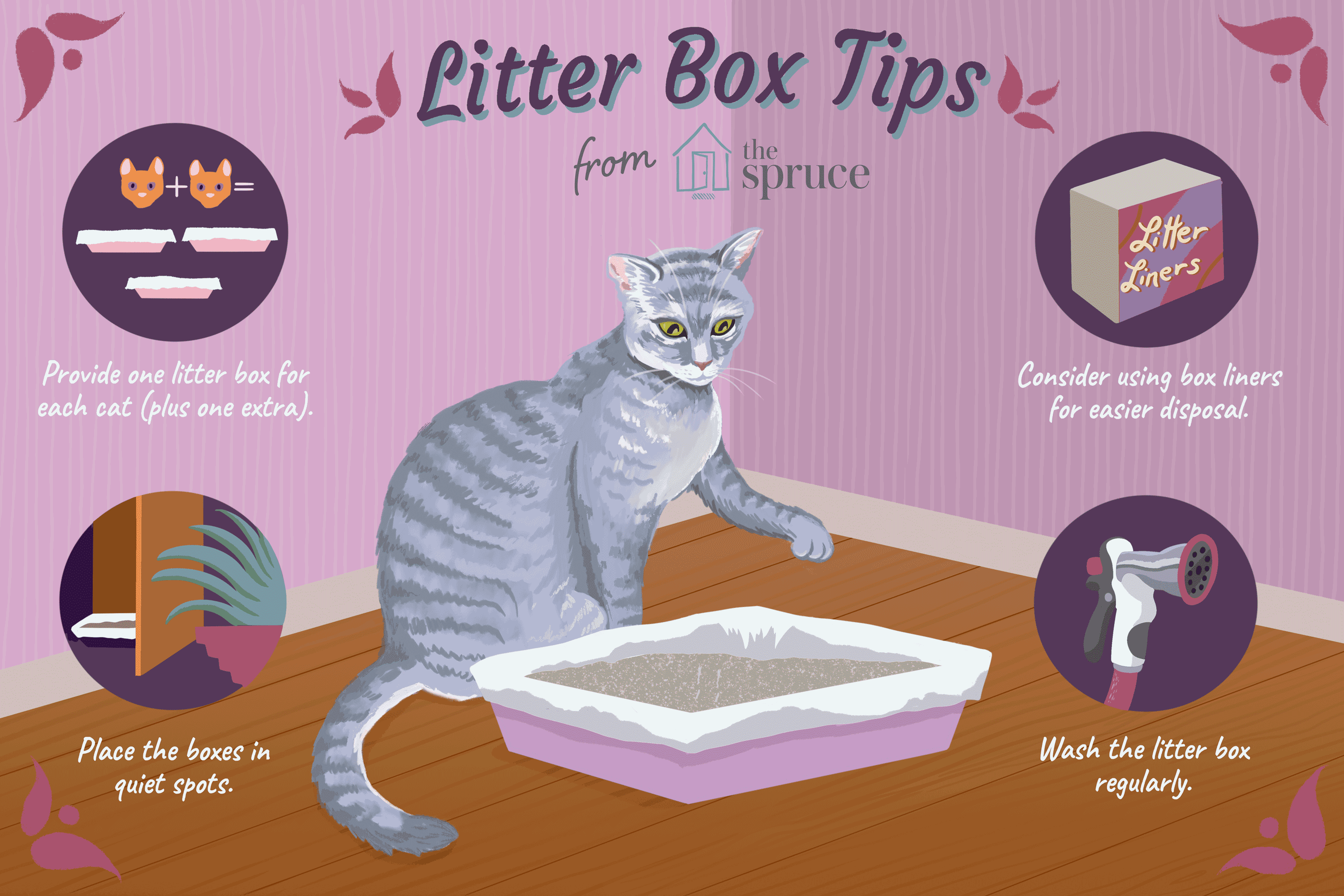 How to Keep Your Cat's Litter Box Clean