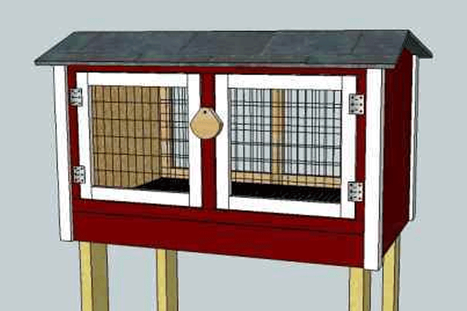 10 Completely Free Diy Rabbit Hutch Plans