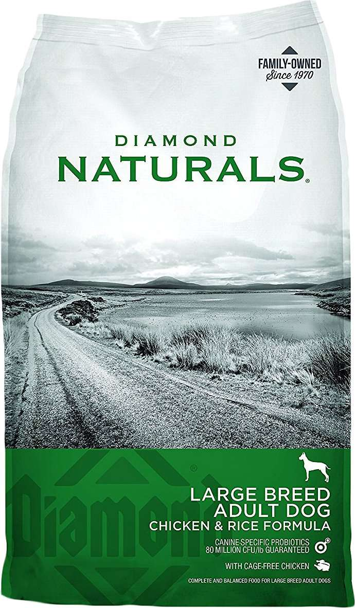 Diamond Naturals Large Breed Adult Chicken & Rice Formula Dry Dog Food