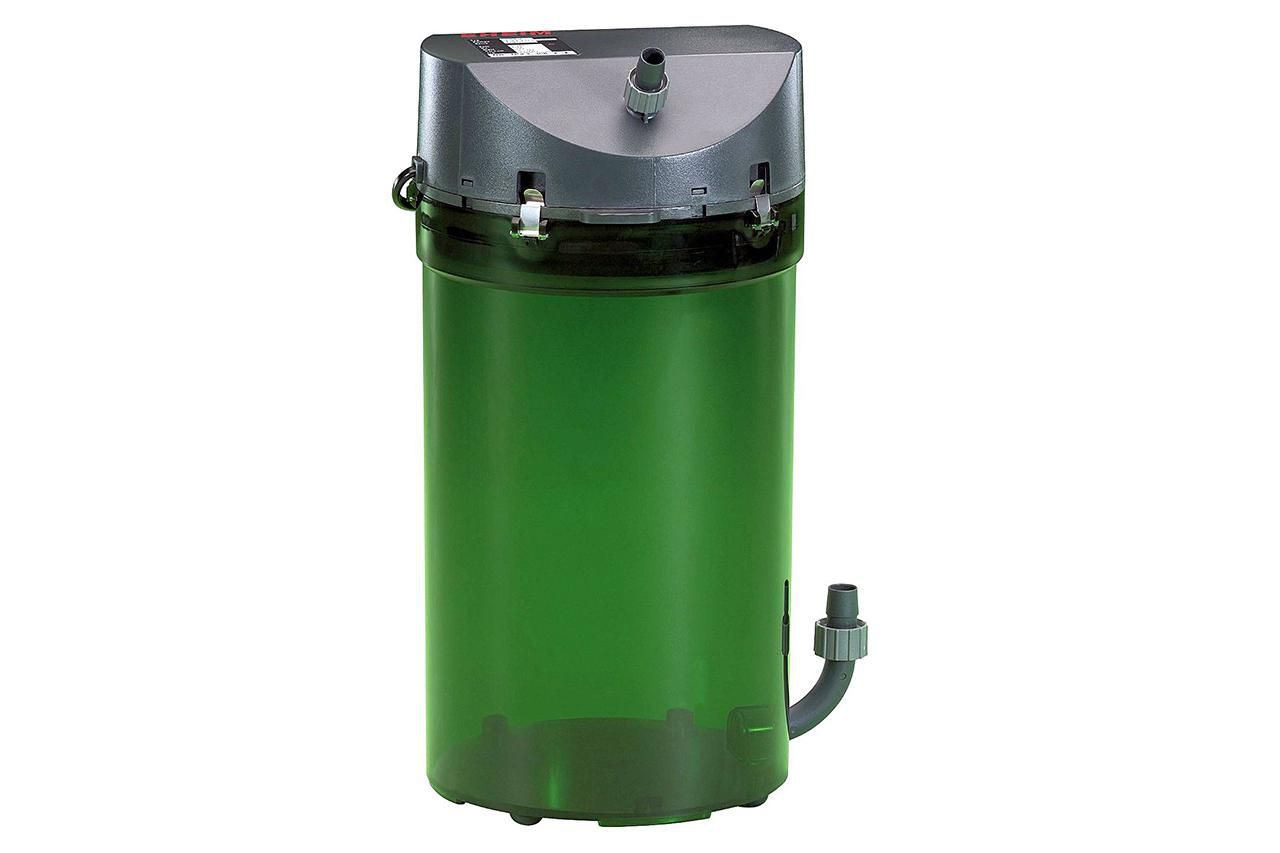 Green Eheim classic canister.