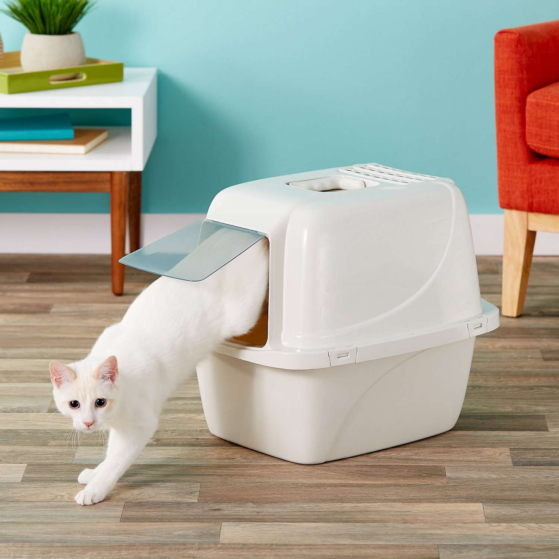 Enclosed Cat Litter Pan