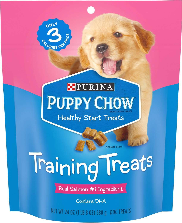Puppy Chow Healthy Start Salmon Flavor Training Dog Treats