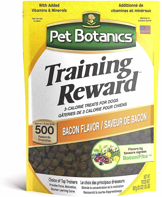 Pet Botanics Training Rewards Bacon Flavor Dog Treats