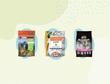 Frozen and Freeze-Dried Raw Cat Food