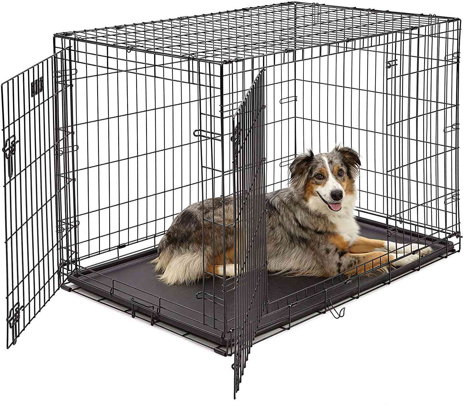 MidWest Homes for Pets iCrate Folding Metal Crate