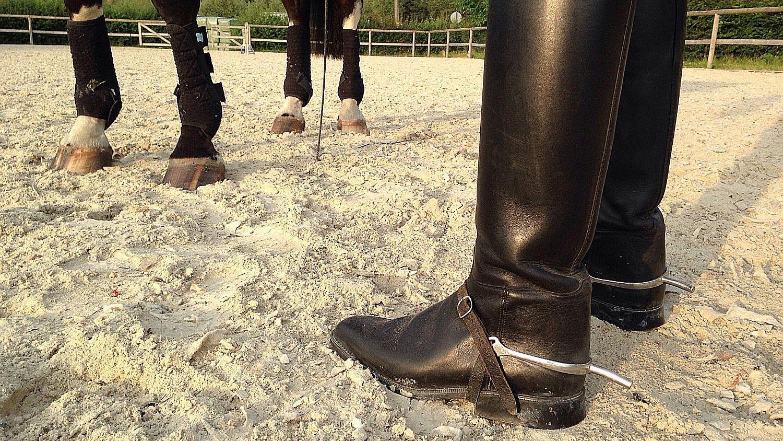 Wearing Spurs While Horseback Riding