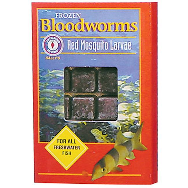 Frozen Bloodworms