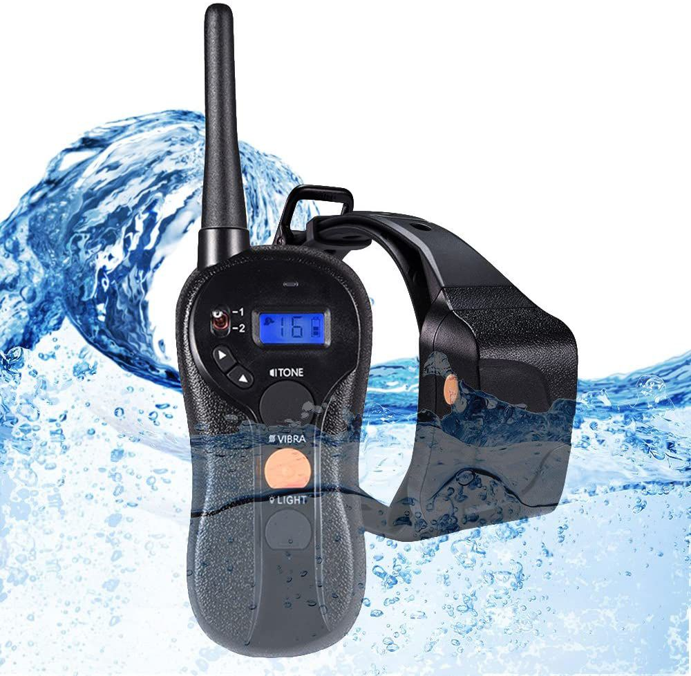 WOLFWILL-waterproof-rechargeable-collar
