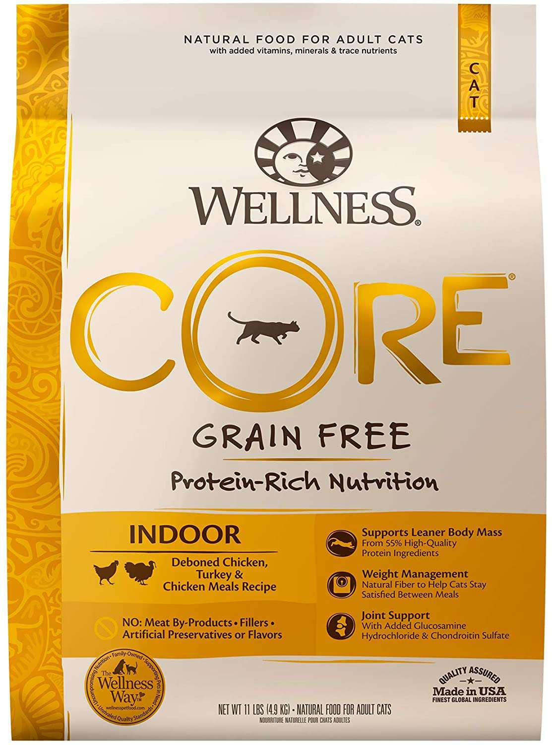 Wellness CORE Grain Free Natural Dry Food for Adult Cats