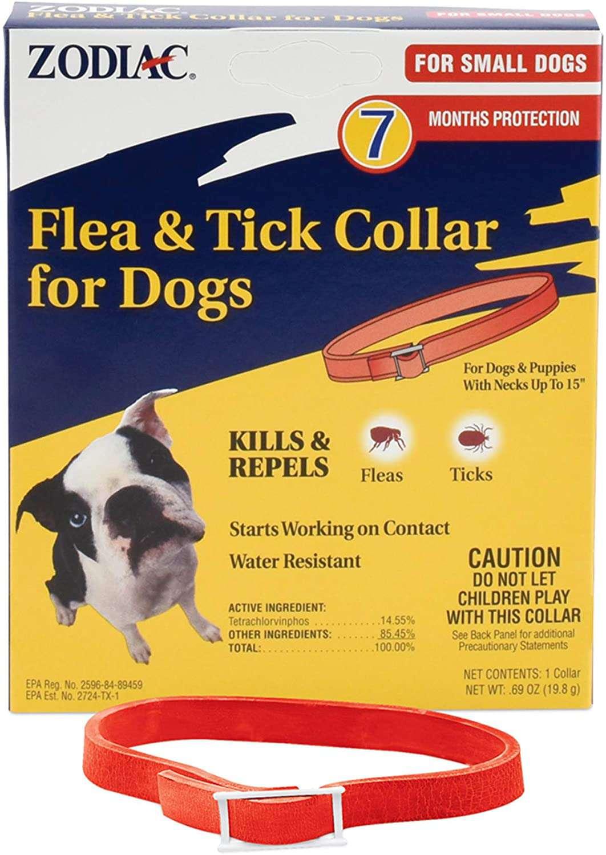 Zodiac Flea and Tick Collar for Small Dogs