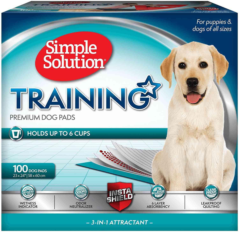 Simple Solution Training Premium Dog Pads
