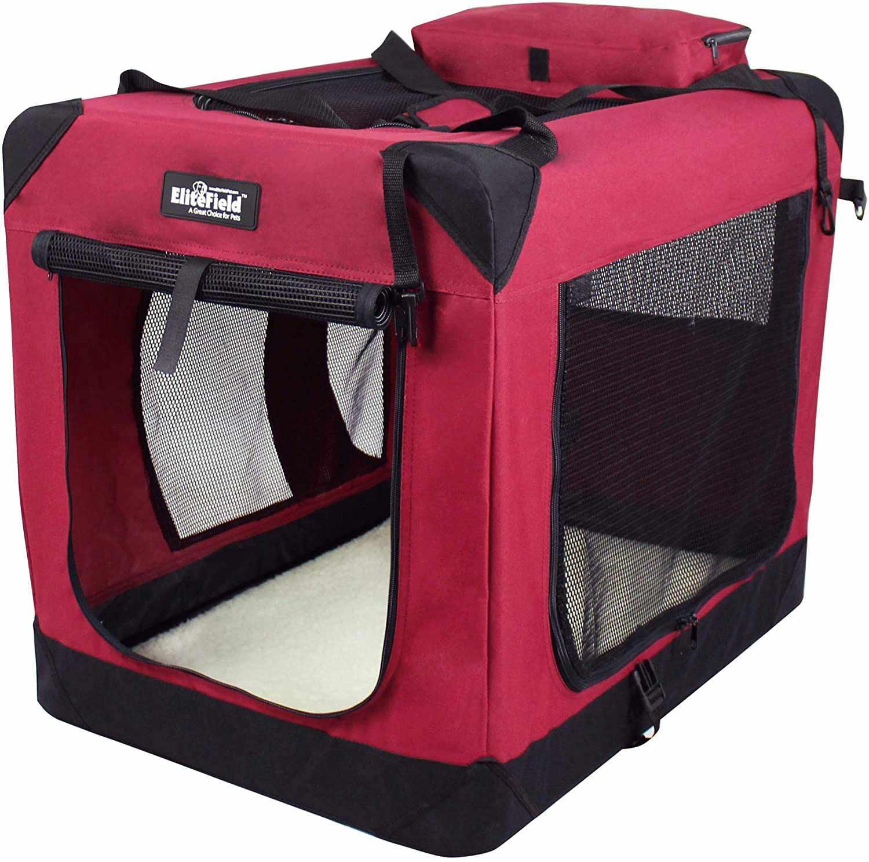 EliteField Soft Folding Dog Crate