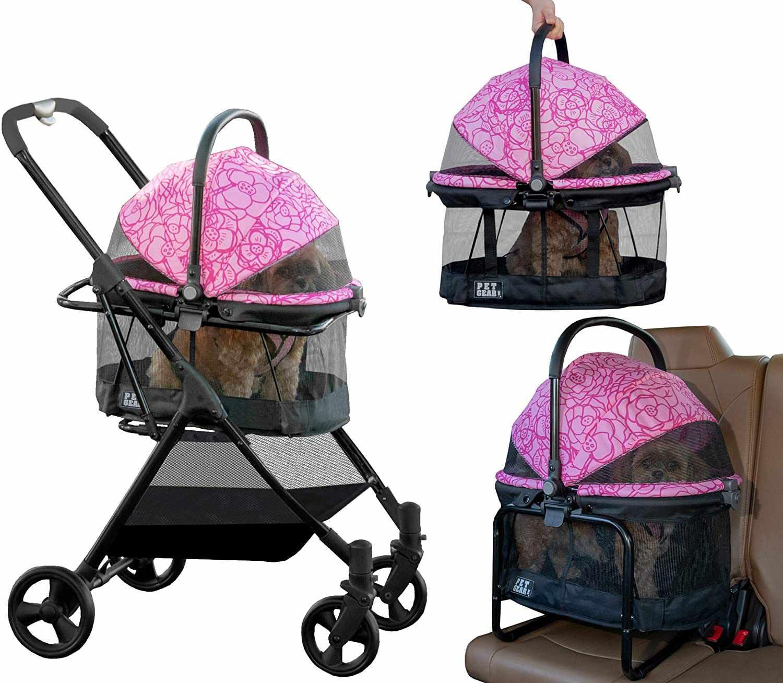 Pet Gear 360 Travel System Dog & Cat Stroller