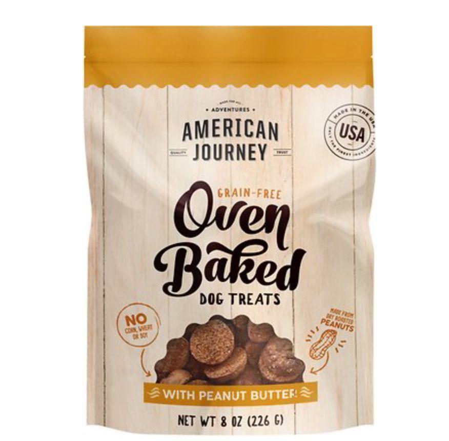 American Journey Oven Baked Dog Treats