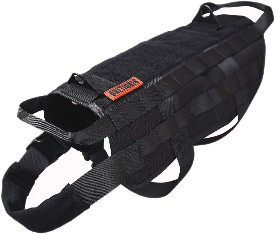 OneTigris Tactical Dog Training Vest Harness