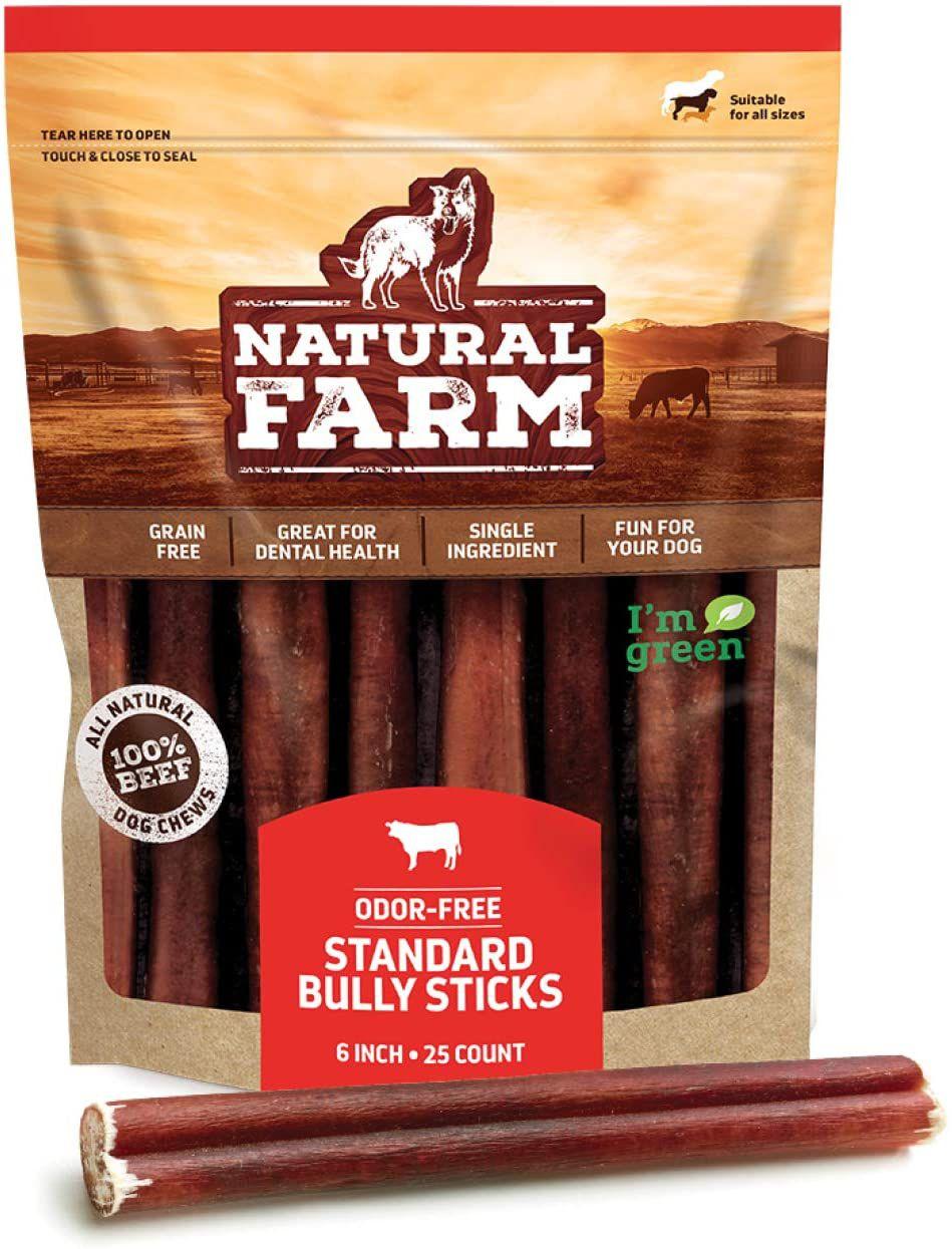 Natural Farm Odor-Free Standard Bully Sticks