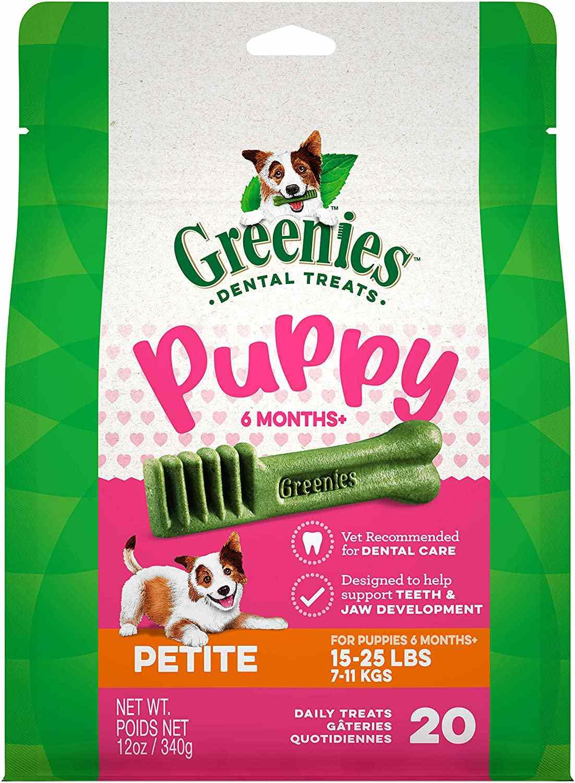 Greenies Puppy Regular Dental Dog Treats