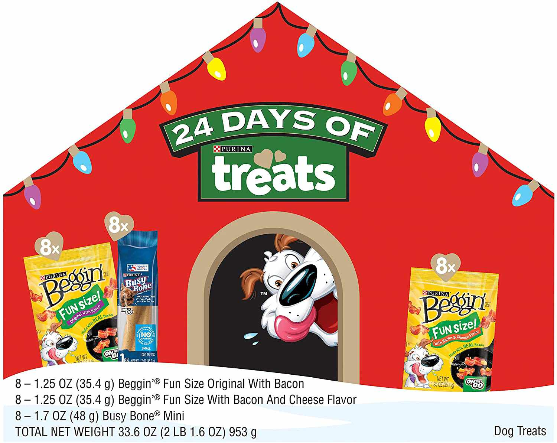 Beggin' Strips/Busy Bone Advent Calendar Dog Treats