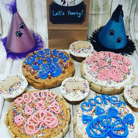 Dog Birthday Party Cakes