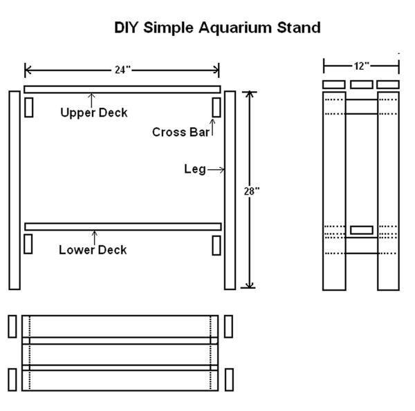 DIY Simple AQ Stand Graphic