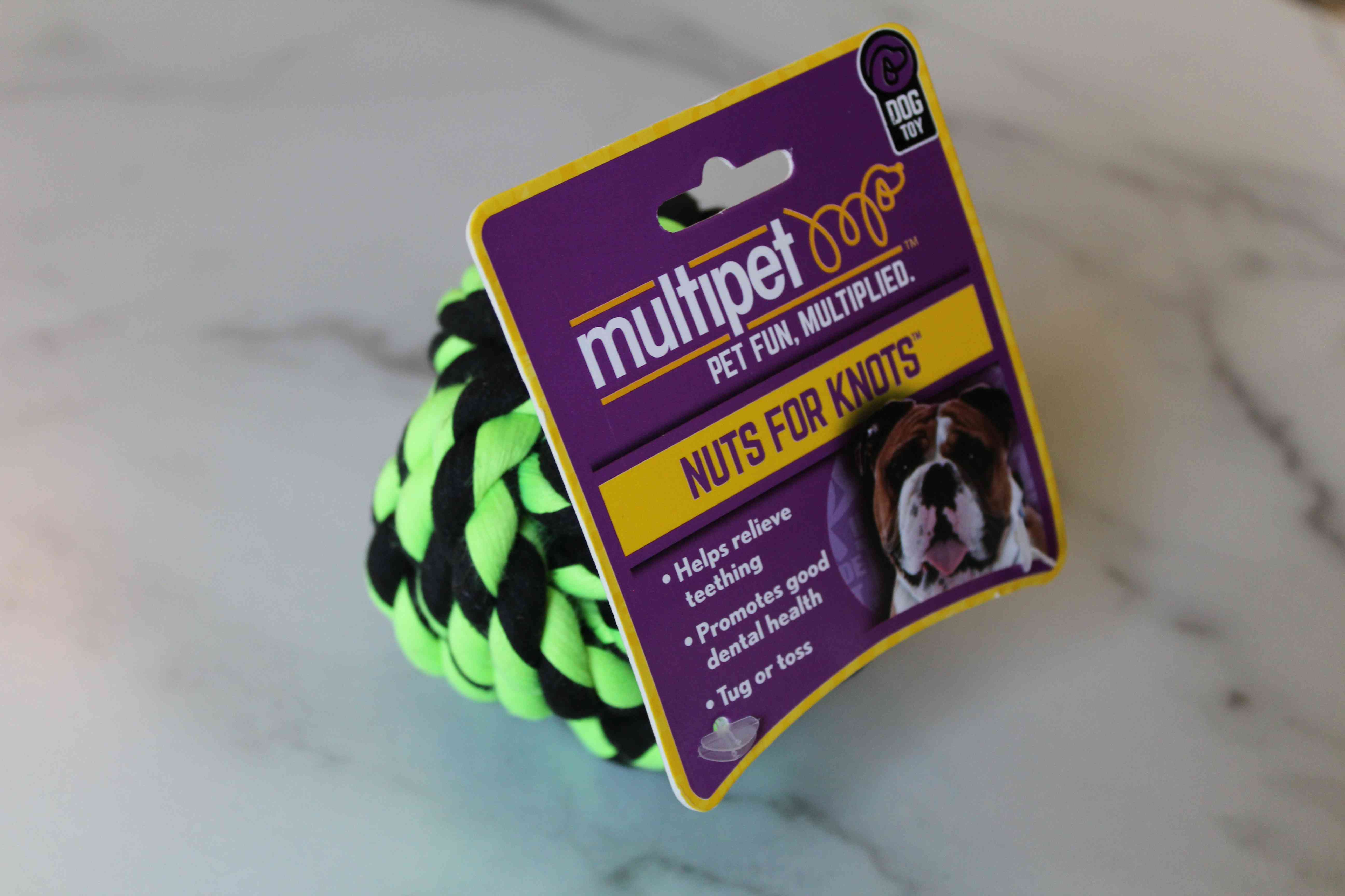 Multipet Nuts for Knots Ball