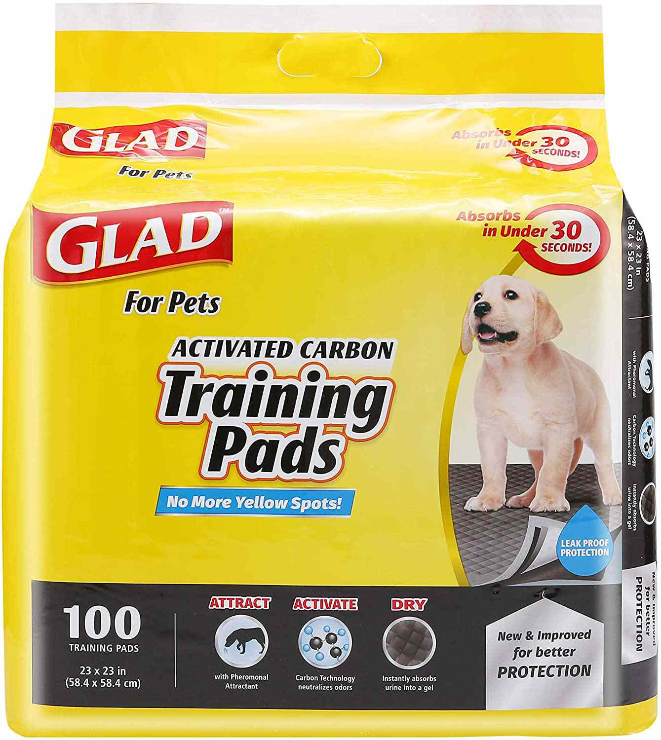 Glad for Pets Activated Carbon Training Pads