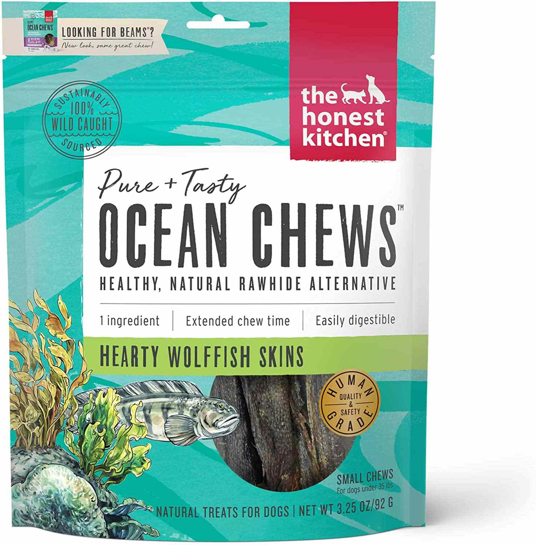 The Honest Company Beams Ocean Chews Grain Free Dog Chew Treats