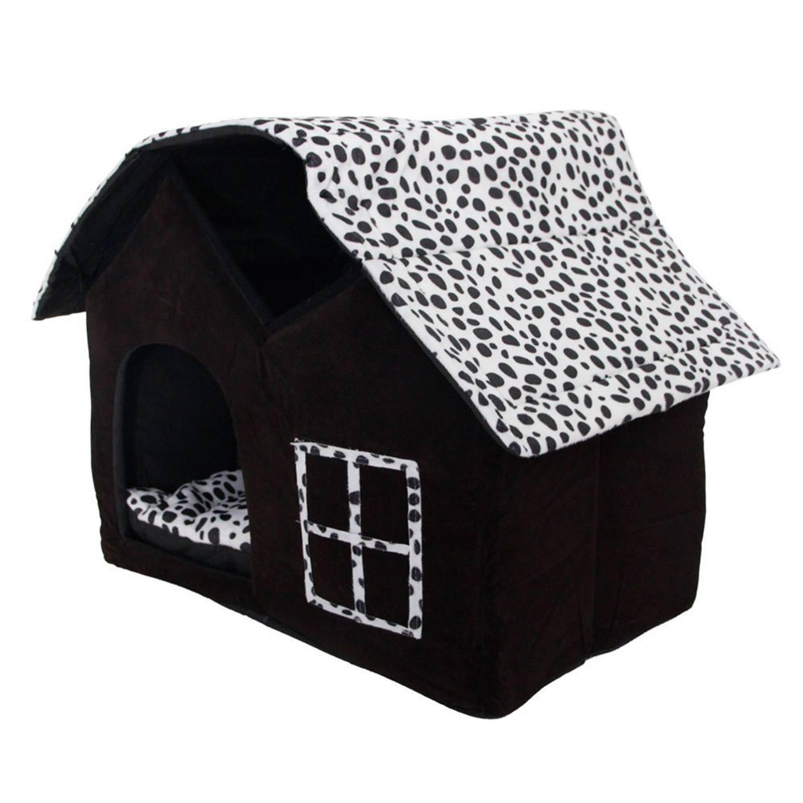 Cama para perros cubierta