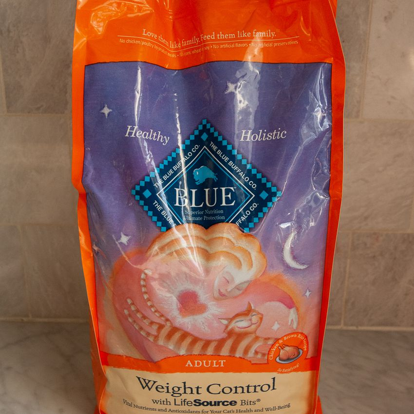Blue Buffalo Weight Control Natural Adult Dry Cat Food