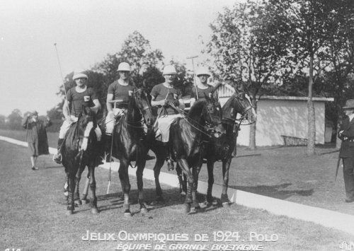 The British Polo team of 1924.